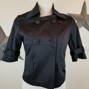 MaxMara pura seta cotton sleeveless cropped trench
